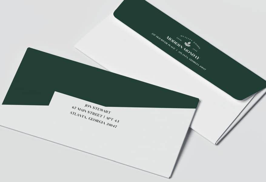 converted envelopes