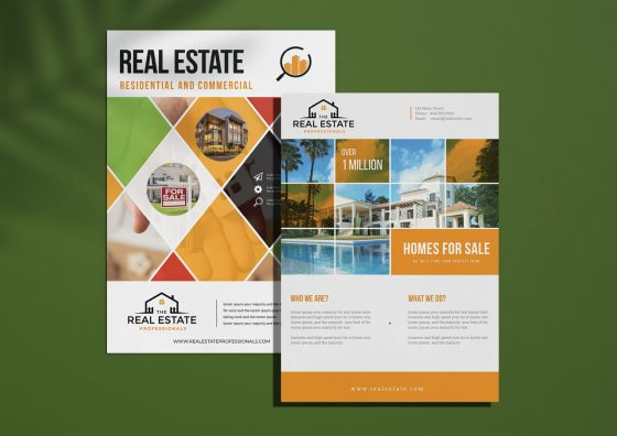 real estate sell sheets