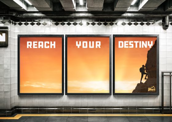 large format posters motivational theme