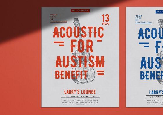 custom leaflets music theme