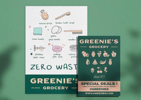 custom leaflets groceries