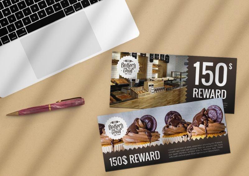 reward ads buckslips