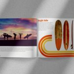 surf theme booklet