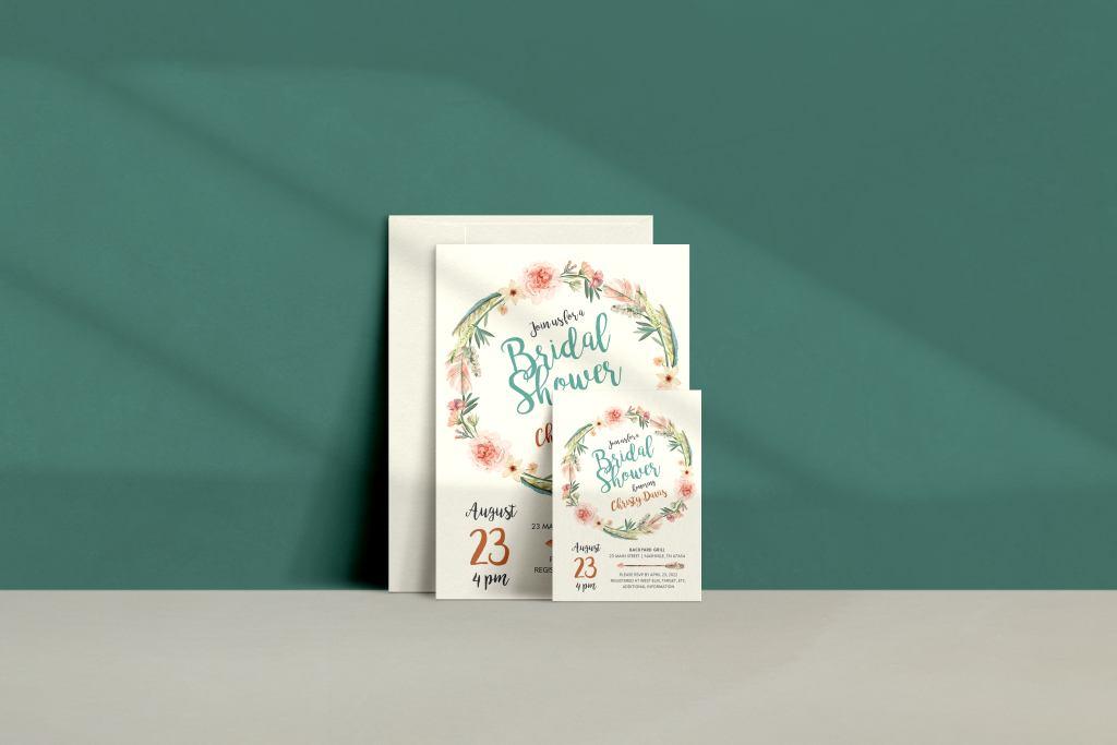custom bridal showers invitations