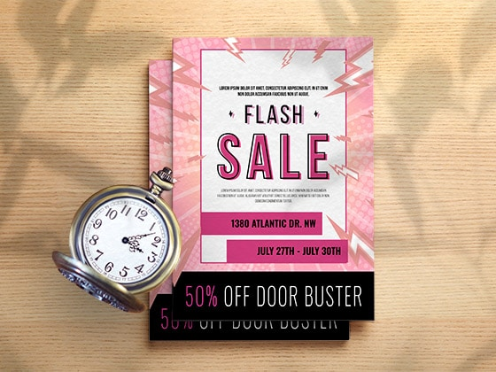 Flyers flash sale